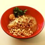 Creme de maçã com granola e pinhões - mais uma ideia para preparares rapidamente, um pequeno almoço nutritivo e saudável!