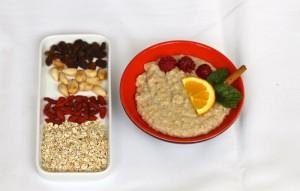 porridge creme de aveia